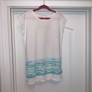 Girls Ivivva T-shirt (size 10)